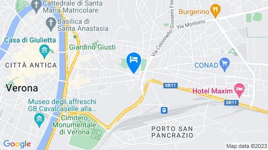 B&B Santa Toscana Map