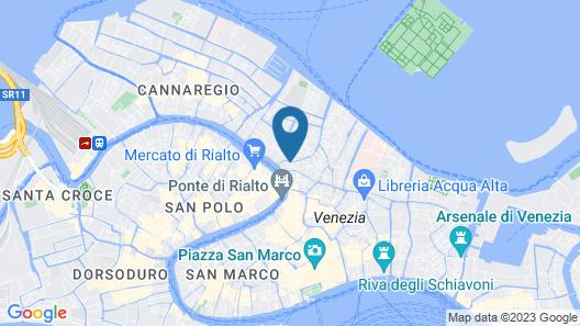 Hotel Antico Doge - a Member of Elizabeth Hotel Group Map