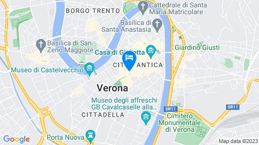 Hotel Giulietta e Romeo Map