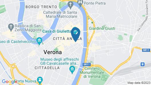 Gatto Romeo Apartments Map