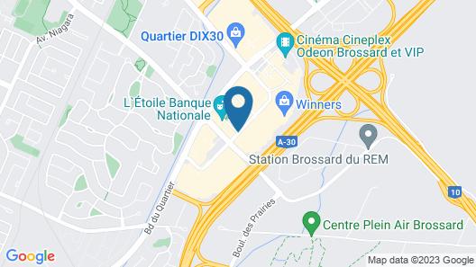 Hôtel Alt Quartier DIX30 Map