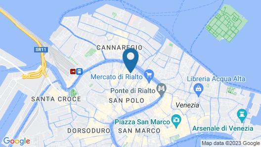 Hotel Al Ponte Mocenigo Map