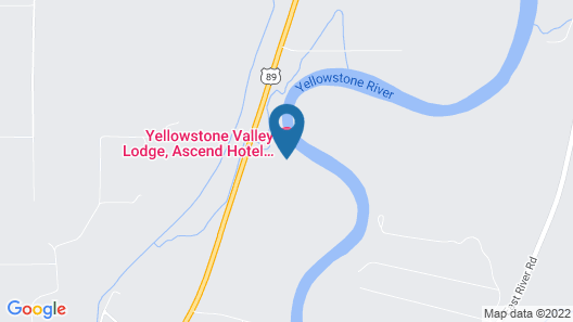 Yellowstone Valley Lodge, Ascend Hotel Collection Map