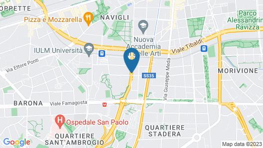 Hotel La Spezia Map