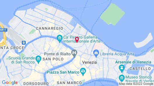 Hotel Giorgione Map