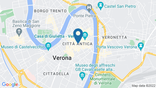 Hotel Accademia Map