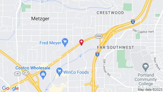 Quality Inn Tigard - Portland Southwest Map