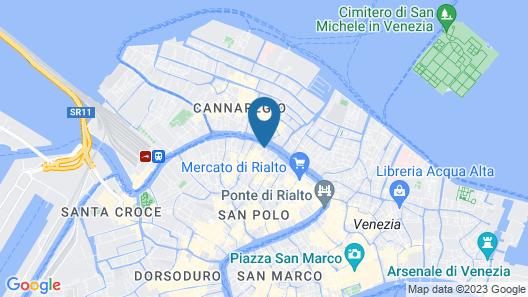 Hotel Palazzo Giovanelli e Gran Canal Map