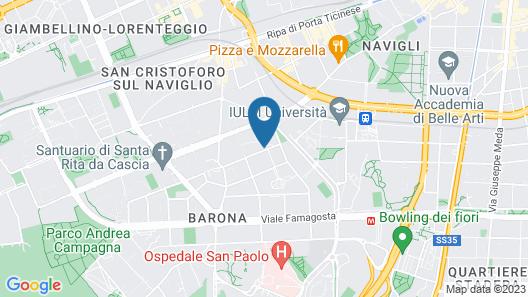 La Cordata Accommodation - Zumbini 6 Map