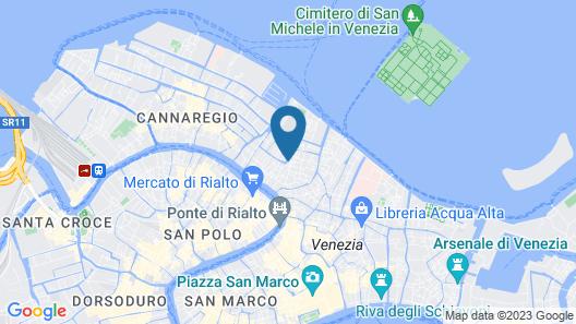 Hotel Ca' d'Oro Map