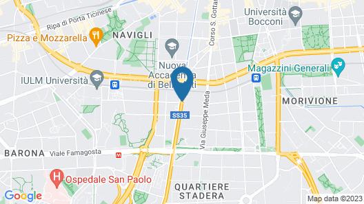 Hotel Marte Map