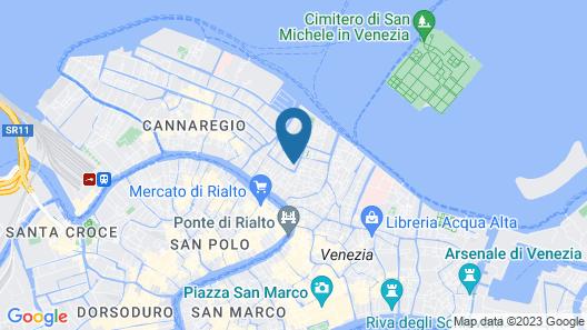 Maison Venezia | UNA Esperienze Map