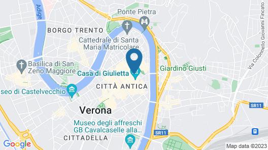 Residenza Navona Verona Map