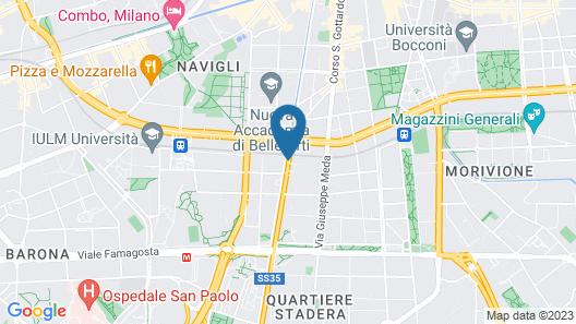 Hotel Mercurio Map