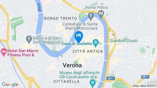 NH Collection Palazzo Verona Map