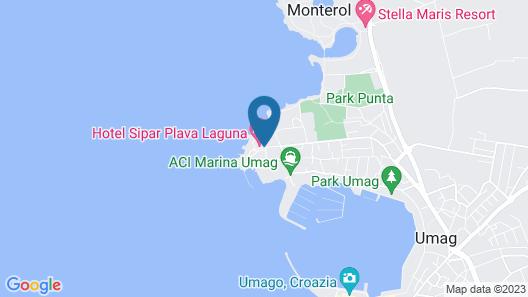 Hotel Sol Sipar For Plava Laguna Map