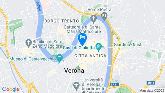 Corte Realdi Luxury Rooms Map