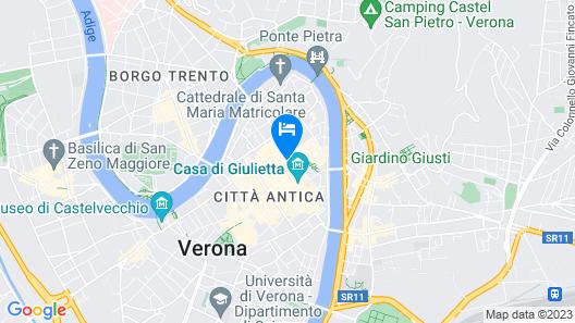 Albergo Mazzanti Map