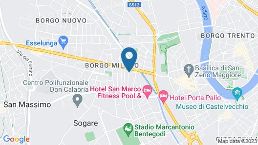 Hotel Leopardi Map