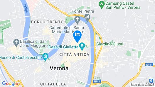 Corte Realdi Suites Piazza Erbe Map