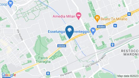 iH Hotels Milano Lorenteggio Map
