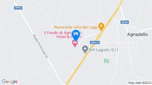 Il Feudo di Agnadello Map