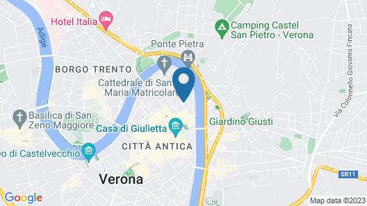 Due Torri Hotel Map