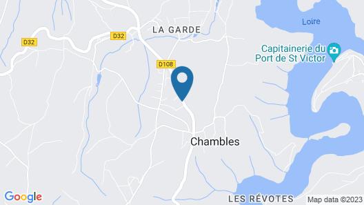 Chambres d'Hôtes Chavannes Map