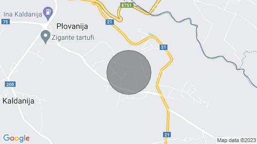 2 Zimmer Unterkunft in Kastel Map