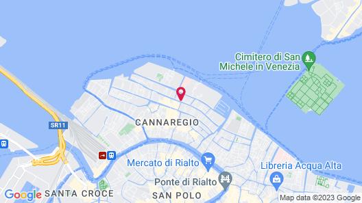 Hotel ai Mori d'Oriente Map