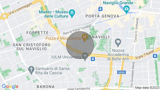 Guesthero Apartment Milano - Navigli Area Map
