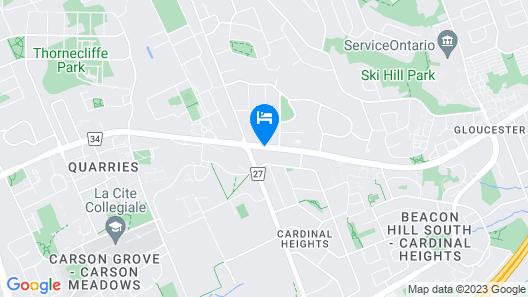 Beacon Hill Motel Map
