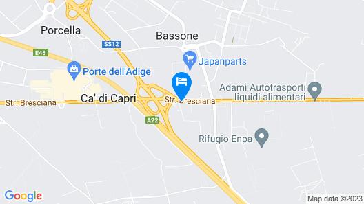 Relais Corte Sant'Agata Map