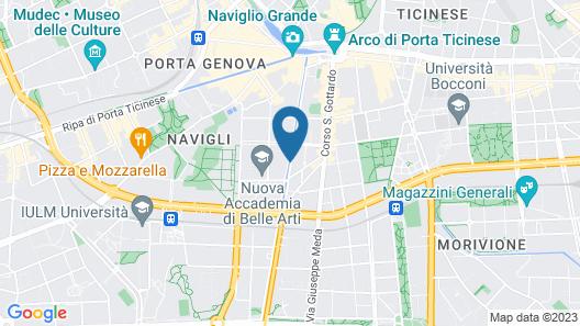 Residenza Ascanio Sforza Map