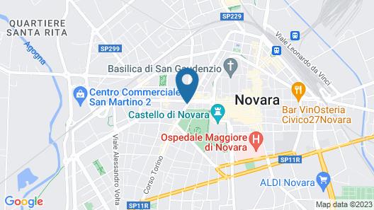Hotel Croce di Malta Map