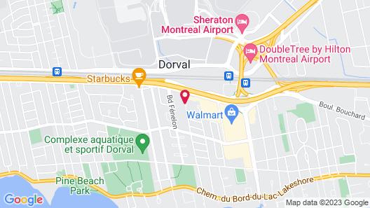 Beausejour Hôtel Appartements Map