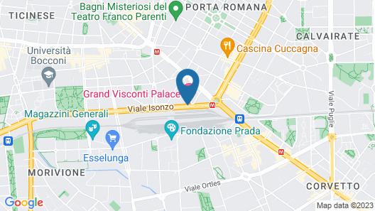 Grand Visconti Palace Map