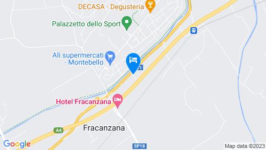 Hotel Fracanzana Map