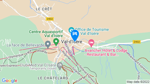 L'Aigle des Neiges Map
