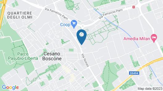 Bisceglie Apartments Map