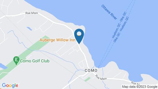 Auberge Willow Inn Map
