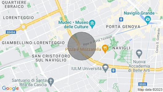 HAVEN OF REST IN NAVIGLI & TORTONA DISTRICT Map