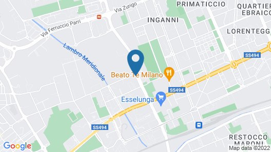 Amedia Milan Map