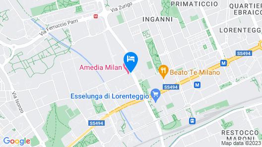 Amedia Milan Map