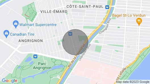 Quiet Apartment 3 min Walk to Metro 10 min to Downtown Map