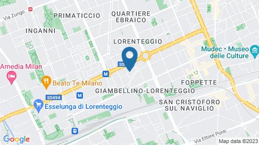 Lorenteggio Studio Apt Map