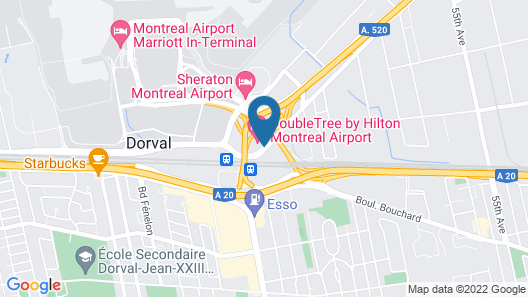 Fairfield Inn & Suites by Marriott Montreal Airport Map