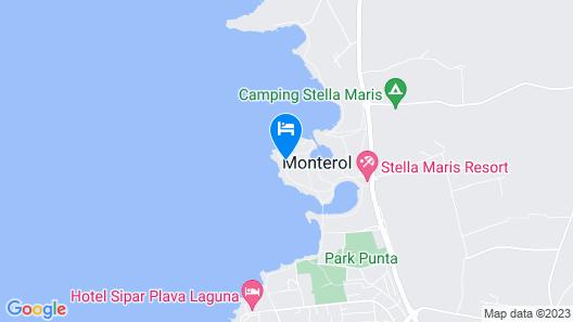 Melia Istrian Villas For Plava Laguna Map