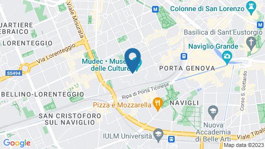Nhow Milano Map