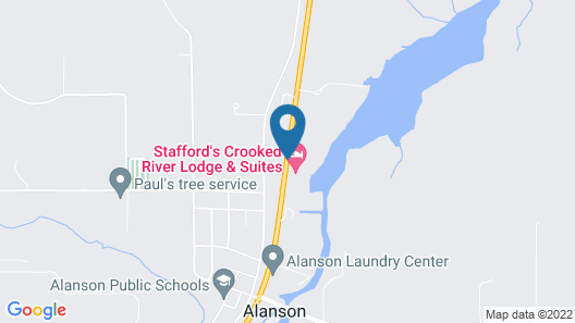 Stafford's Crooked River Lodge & Suites Map